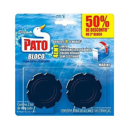 Pedra Sanitária - para Caixa Acoplada - 2 unidades - Pato