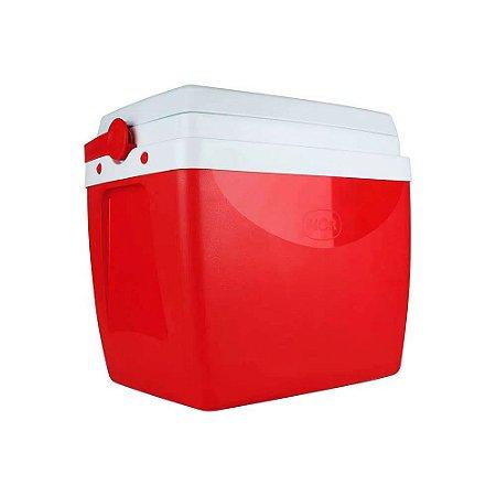 Caixa Térmica - 26L - Vermelha - Mor