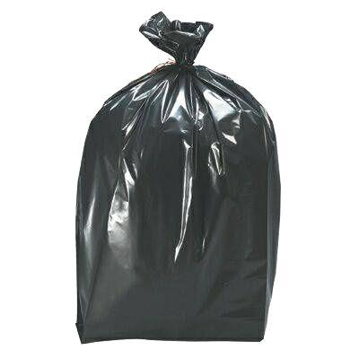 Saco Plástico para Lixo - 40L - Cor preto - 50unid. - Nobre