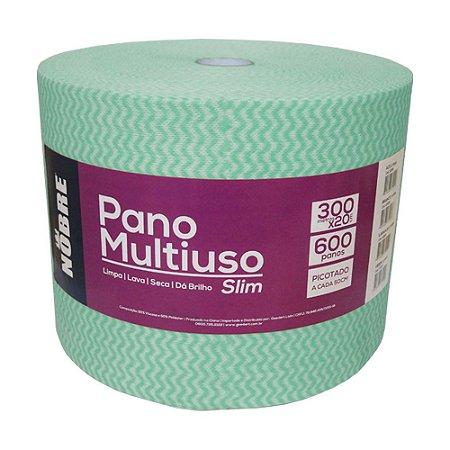Pano Multiuso - Slim - 600unid - Verde - Nobre