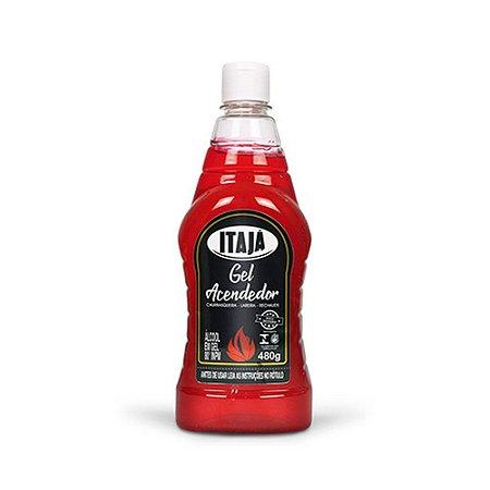 Álcool em Gel - 80% - Especial para queima - 480g - Itajá
