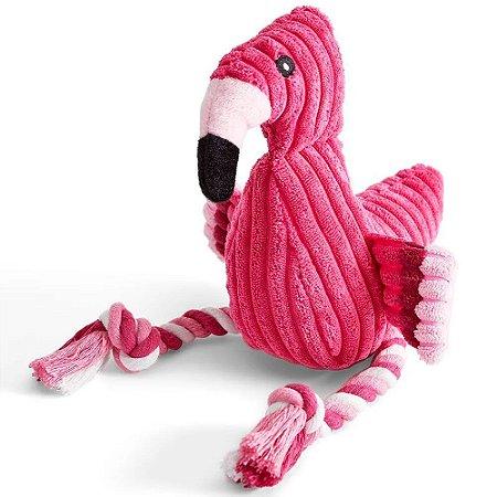 Mordedor de Pelúcia Flamingo - Plasvale