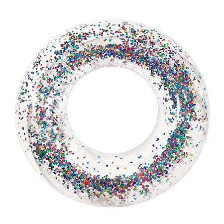 Bóia Inflável - com Glitter - Mor