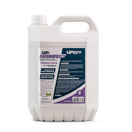 UP Desinfect - Primavera- 5L - Concentrado 1:40 - Up Pro - Nobre