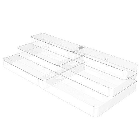 Organizador Multinível Extensível Clear - OU
