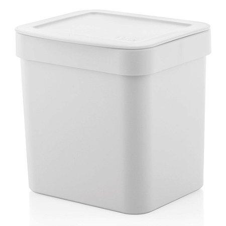 Lixeira Trium - 2,5L - Branco - OU
