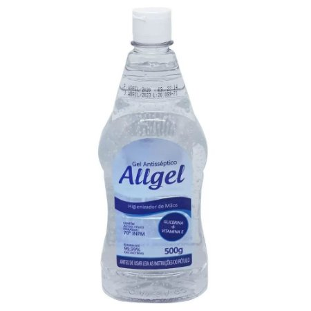 Álcool Gel 70% - 500g - Allgel