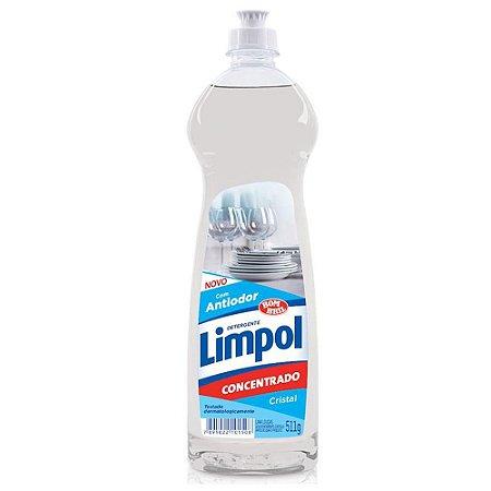 Detergente Gel - Cristal - 511gr - Limpol