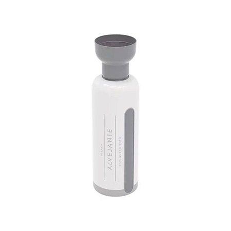 Porta Alvejante 970ml - com Dosador - Cinza e Branco - Plasútil