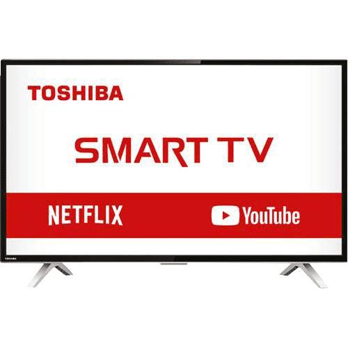 """Smart TV LED 32"""" Semp Toshiba TCL 32L2800 HD com Conversor Integrado 3 HDMI 2 USB Wi-Fi"""