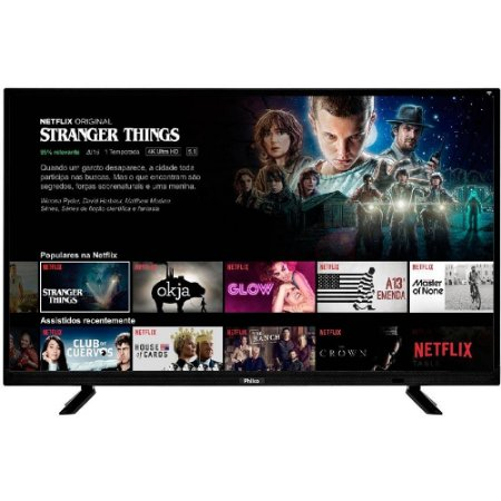 "Smart TV LED 40"" Philco PTV40E21DSWN FULL HD com Conversor Digital 2 HDMI 2 USB Wi-Fi Netflix"