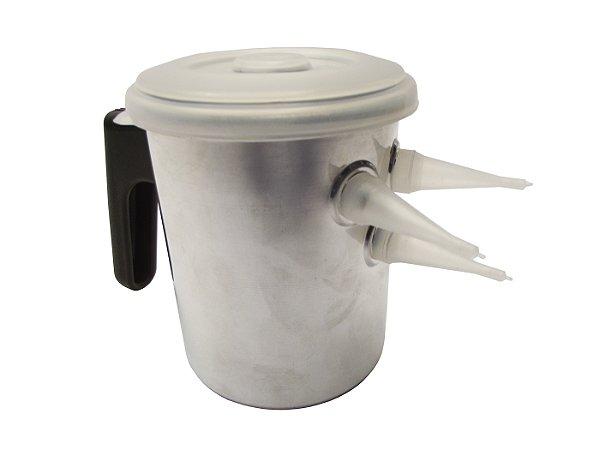 Bulinho de Aluminio para Fios De Ovos Gallizzi