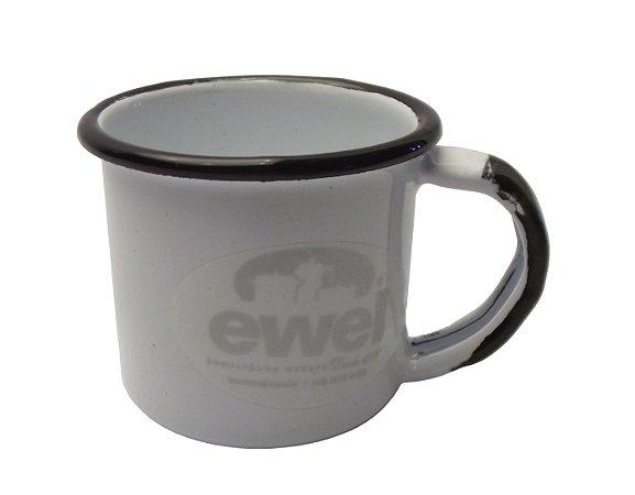 Caneca Esmaltada N8 Ewel Branco