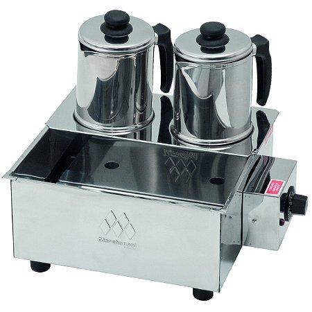 Esterilizador Inox com 2 Bules Com Termostato Marchesoni 220 V