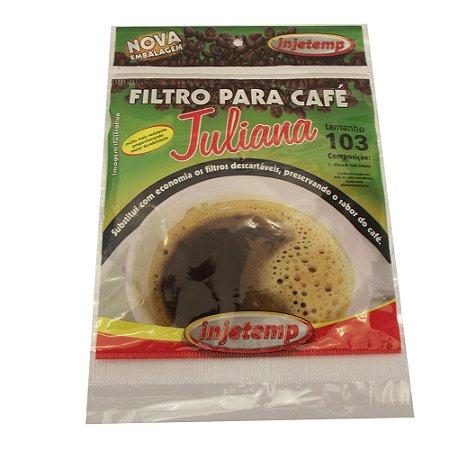 Filtro 103 para Cafe Injetemp Marrom