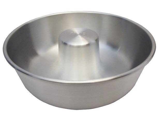 Forma de Aluminio Fosca com Tubo Reforcada Nigro 24 Cm