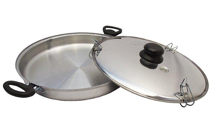 Forma de Aluminio para Pizza e Assados Fulgor 28 Cm