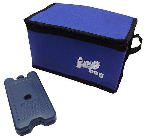 Bolsa Semi Termica Ice Bag Cotermico Azul  06 Lt