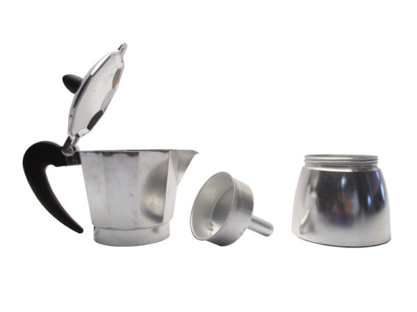 Cafeteira Italiana em Aluminio para 6 Xicaras Hercules Mundial