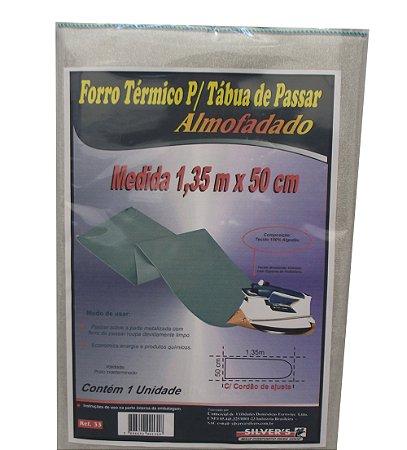 Forro Termico para Tabua de Passar Almofadado Silver´s 50 Cm 1,35 M