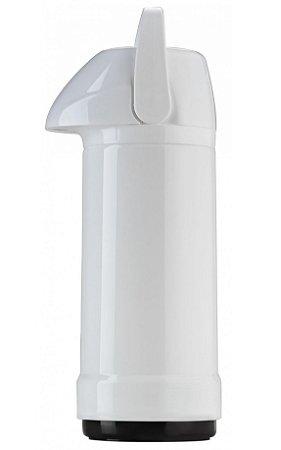 Garrafa Termica de Pressao Lisa Glt Invicta Branco  01 Lt
