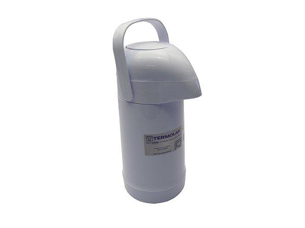 Garrafa Termica Magic Pump Termolar  Branco  500 Ml