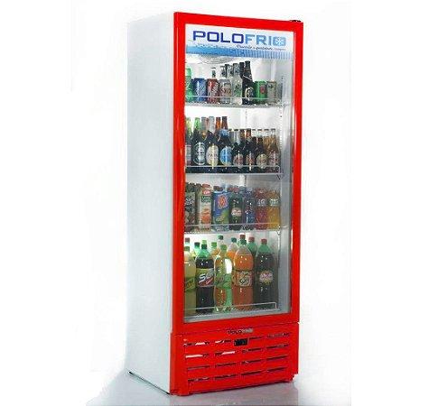 Geladeira Visa Cooler Polofrio Vermelho  450 Lt 110 V