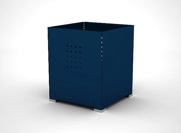 Lixeira para Escritorio Arena Pandin Azul Del Rey 30 Cm