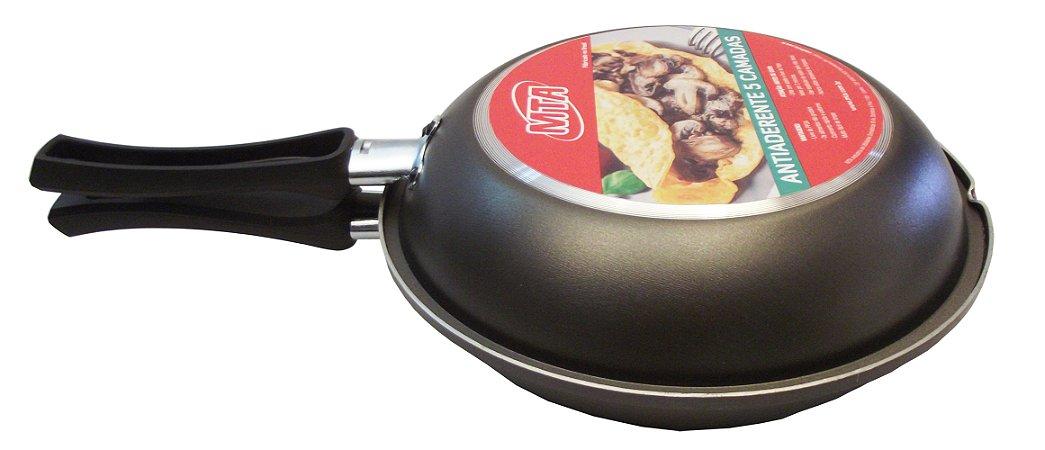 Omeleteira Antiaderente N.18 Mta 18 Cm