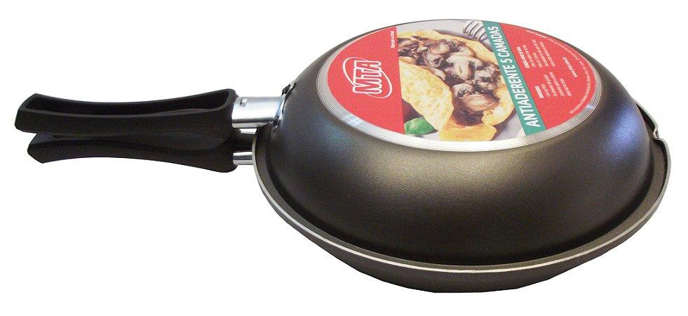 Omeleteira Antiaderente N.22 Mta 22 Cm
