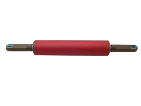 Rolo para Massa 28 Cm Rouge Anodilar Vermelho