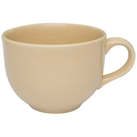 Caneca de Porcelana Jumbo Oxford Bege  740 Ml
