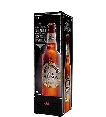 Cervejeira com Porta Solida Fricon 284 Lt 220 V