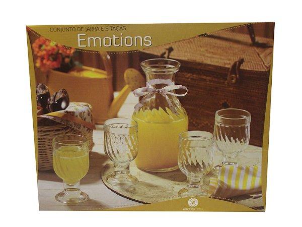 Conjunto para Refresco com 7 Pecas Emotion Wheaton