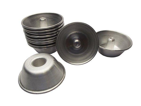 Forma para Quindim com Cone 6x4 em Aluminio Gallizzi