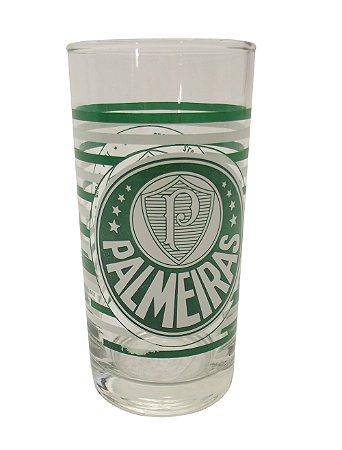 Copo de Vidro Long Drink Palmeiras Allmix