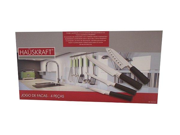 Conjunto de Facas Do Chef com 4 Unidades Hauskraft
