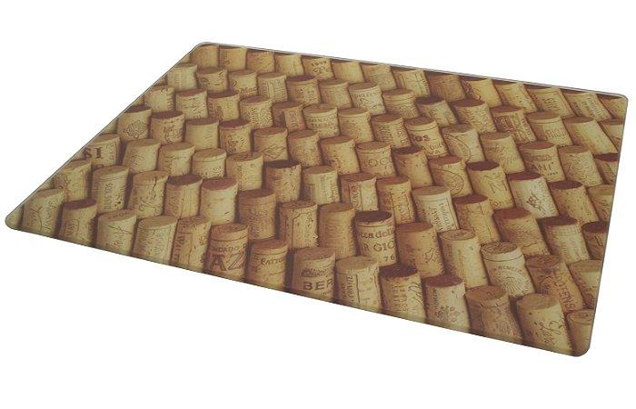 Tabua de Vidro para Corte Rolhas Maranatha 30 Cm, 40 Cm