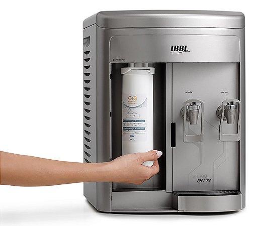 Purificador de Agua Refrigerado Fr600 Speciale Ibbl Prata   220 V