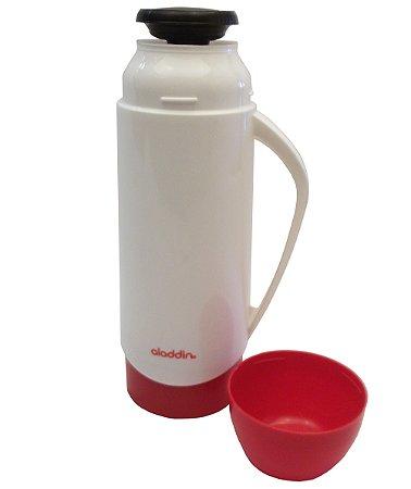 Garrafa Termica Atx Continental Plus Aladdin Branco e Vermelho  500 Ml