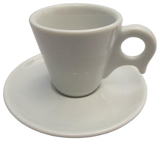 Xicara de Cafe com Pires em Porcelana Dinamarca Germer