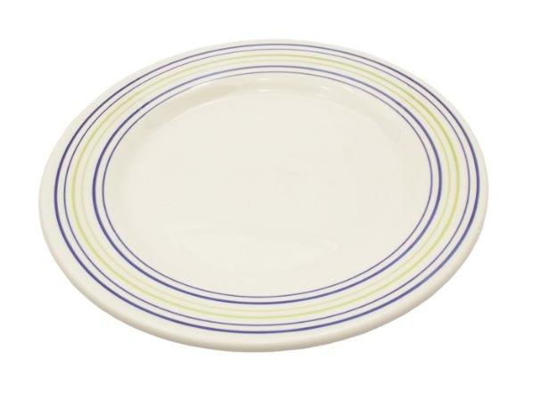 Prato de Porcelana De Sobremesa Decorado Donna Elis Biona Oxford