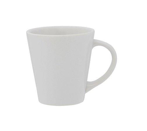 Caneca de Louca Drop Biona Oxford Branco  250 Ml