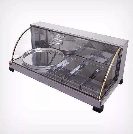 Estufa 03 Bandejas com Porta Pizza Patrinox 220 V