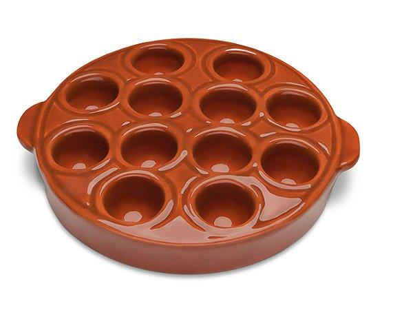 Provolera de Ceramica Motta  Marrom