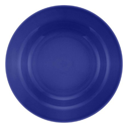 Prato de Porcelana Liso Raso Donna Azul Biona Oxford Azul 24 Cm