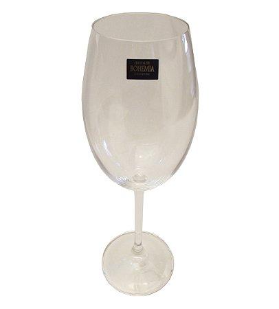 Jogo de Tacas para Vinho Tinto com 06 Pecas Bohemia Crystal Cristalex 350 Ml