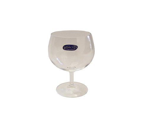 Jogo de Tacas para Vinho Branco com 06 Pecas Crystal Bohemia Cristalex 250 Lt