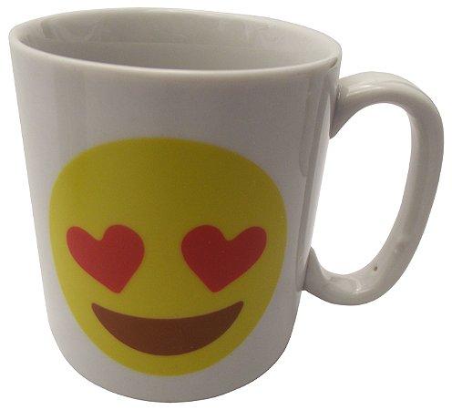 Caneca em Ceramica Emoticon Apaixonado Koisas de Kozinha 300 Ml