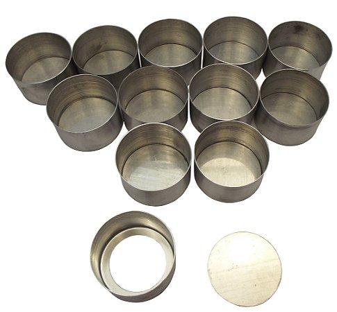 Forma para Pao de Mel em Aluminio Gallizzi